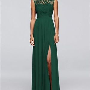 Juniper Green Bridesmaids Dress